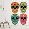 Sugar Skull Group Digital Wall Sticker
