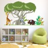 African Animals Scene Digital Wall Sticker