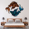 Tribal Fish Digital Wall Art Wall Sticker