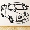 VW Camper Van Design Wall Art Wall Sticker