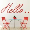 Adele 25 Hello.. Song Title Wall Stickers Music Home Décor Art Decals