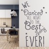 Best Song Ever One Direction Song Lyrics Wall Stickers Music Décor Art Decals