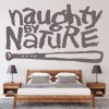 Naughty By Nature USA Hip Hop Band Name Band Logo Wall Stickers Music Art Decals
