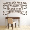 Led Zepplin Stairway To Heaven Song Lyrics Wall Stickers Music Décor Art Decals