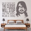 Foo Fighters Dave Grohl These Days Song Lyrics Wall Stickers Music Art Decals