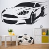Aston Martin Car Transport Wall Sticker Home Art Decals Decor