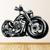 Harley Motorbike Transport Wall Stickers Home Art Decals Decor