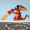 Red Dragon Wall Sticker Monster Wall Decal Kids Bedroom Home Decor
