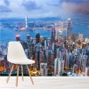 Hong Kong City Skyline China Travel Wall Mural Skyscraper Photo Wallpaper