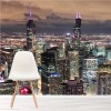 Chicago Skyscrapers America USA City Skyline Wall Mural Travel Photo Wallpaper