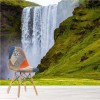 Skogafoss Waterfall Icelandic Landscape Nature Wall Mural Travel Photo Wallpaper