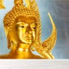 Golden Buddha The Marble Temple Religious Wall Mural Travel Photo Wallpaper