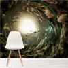 Cloud Vortex In Stormy Sky Fantasy Art Nature Wall Mural Home Photo Wallpaper