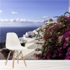 Oia Santornini Greece Coastal Landscape Wall Mural Ocean Photo Wallpaper