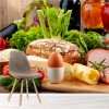 Fresh Organic Ingredients Food & Drink Wall Mural Kitchen Photo Wallpaper