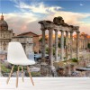 Rome Italy Skyline Roman Landmarks Cityscape Wall Mural Travel Photo Wallpaper