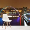 Millennium Bridge Newcastle Landmarks Wall Mural City Skyline Photo Wallpaper