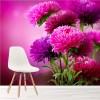 Scottish Thistles Fuschia Pink Flowers Nature Wall Mural Floral Photo Wallpaper