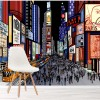 Times Square New York At Night City America Wall Mural Travel Photo Wallpaper