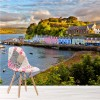Portree Harbour Isle Of Skye Idyllic Pier Scotland Wall Mural Photo Wallpaper