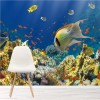 Busy Coral Reef & Tropical Fish Under The Sea Wall Mural Nature Photo Wallpaper