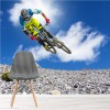 Mountain Bike Jump Motocross Cyclist Cycling Wall Mural Sports Photo Wallpaper