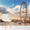River Thames London Eye Landmarks City Skyline Wall Mural Travel Photo Wallpaper