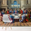 Jesus Christ The Last Supper Biblical Art Wall Mural Religion Photo Wallpaper