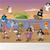 Pirate Ships & Crew With Animals Cartoon Fantasy Wall Mural Kids Photo Wallpaper