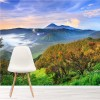 Sunrise Over Bromo Volcano Indonesia Landscape Wall Mural Photo Wallpaper