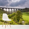 Viaduct Through Countryside UK Architecture Wall Mural Bridges Photo Wallpaper