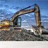 Construction Excavator Building Machinery Wall Mural Transport Photo Wallpaper