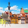 Colourful Buildings Warsaw, Poland City Skyline Wall Mural Photo Wallpaper