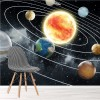Sun & Planets In Our Solar System Galaxy Space Wall Mural Photo Wallpaper