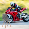 Fast Red Motorbike Race Motorsport Sports Wall Mural Transport Photo Wallpaper