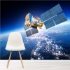 Satellite & Planet Earth Solar System Space Wall Mural Science Photo Wallpaper