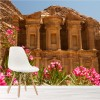 Petra, The Monastery Wonder Of The World Landmark Wall Mural Photo Wallpaper