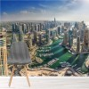 Dubai Cityscape Skyscrapers City Skyline Wall Mural Travel Photo Wallpaper