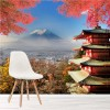 Mt Fuji, Japan In Autumn Volcano Mountain Wall Mural Lanscape Photo Wallpaper