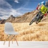 Mountain Bike Race Competition Extreme Sports Wall Mural Cycling Photo Wallpaper