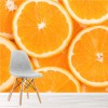 Orange Slice Background Citrus Fruit Food Wall Mural Kitchen Photo Wallpaper