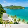 Tropical Island & Sea Wua Talab, Asia Beach Wall Mural Travel Photo Wallpaper