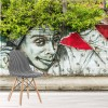 Afro Graffiti Art Urban Illustration Fun Wall Mural Art Photo Wallpaper
