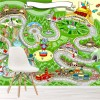 Race Car Activity Background Games Fun Maps Wall Mural kids Photo Wallpaper