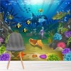 Under The Sea Whale, Fish, Coral Reef Animals Wall Mural kids Photo Wallpaper