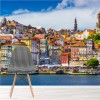 Colourful Buildings & River Portugal City Skyline Wall Mural Photo Wallpaper