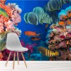 Colourful Tropical Fish In Coral Reef Animal Wall Mural Nature Photo Wallpaper