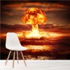 Nuclear Explosion In Ocean Apocalypse Bomb War Wall Mural Photo Wallpaper