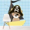Pirate Teddy Bear In Ship Fun Cartoon Nursery Wall Mural kids Photo Wallpaper