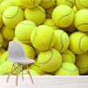 Tennis Balls Background Sports & Games Wall Mural Hobbies Photo Wallpaper